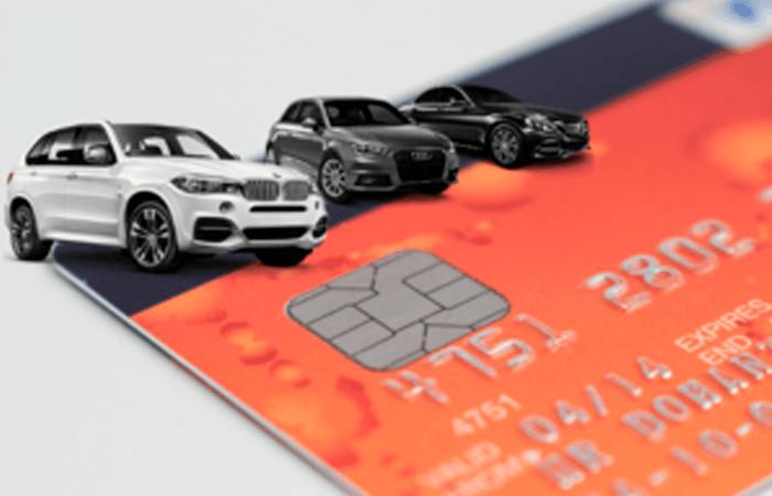 Alquilar un vehículo sin tarjeta de crédito