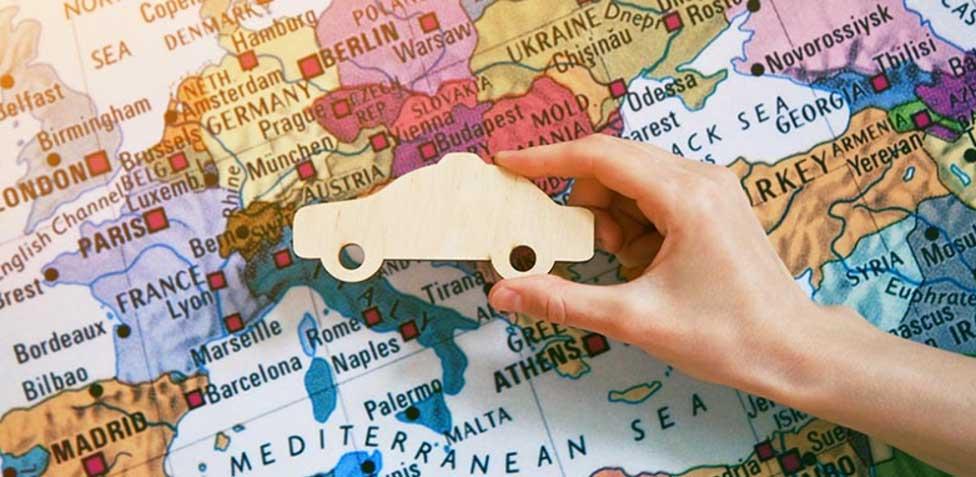 viajar por europa en coche