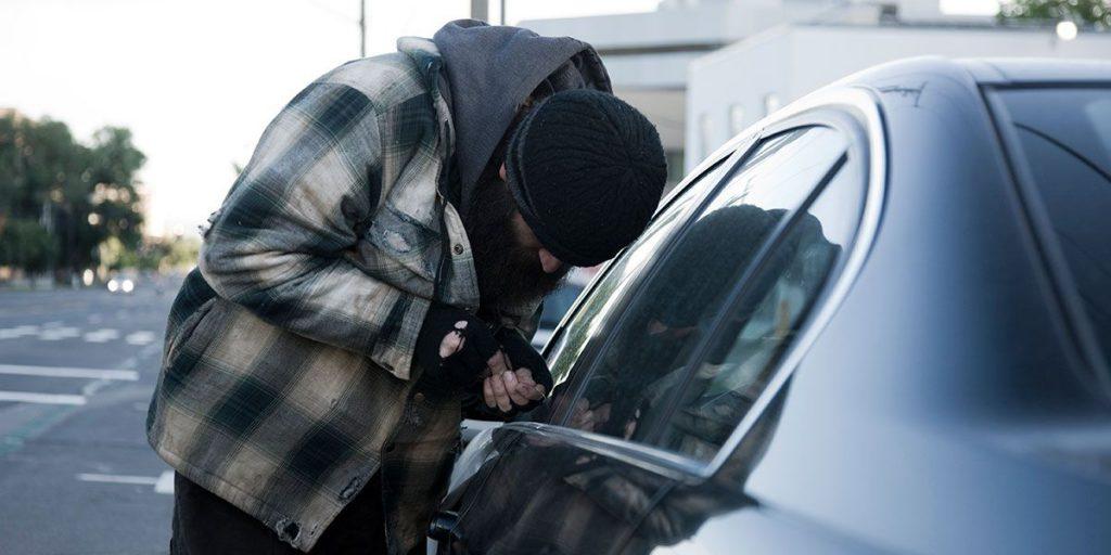 Cobertura por robo en coches de alquiler